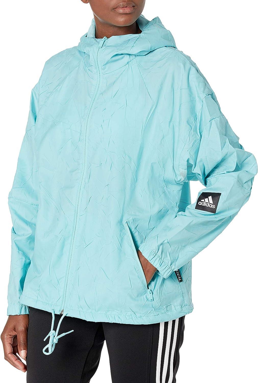 Descubrimiento Claire microondas  Amazon.com: adidas womens W.n.d. Jacket Primeblue: Clothing