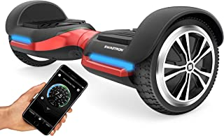 Swagtron Swagboard Vibe T580 App-Enabled Bluetooth Hoverboard w/Speaker Smart Self-Balancing Wheel – Available on iPhone & Android