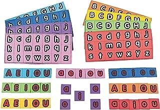 Fun Express - Magnetic Foam Alphabet Letters - Educational - Teaching Aids - Language Arts - 208 Pieces