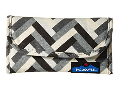 KAVU Big Spender (Stone Parquet) Wallet Handbags