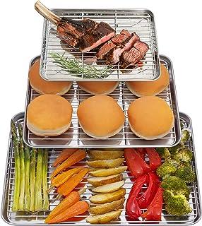 Kpkitchen Baking Sheet With Rack Set