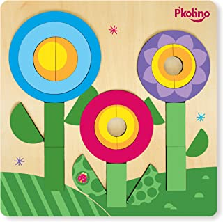 P'Kolino Multi-Solution Double Sided Puzzle - Flower