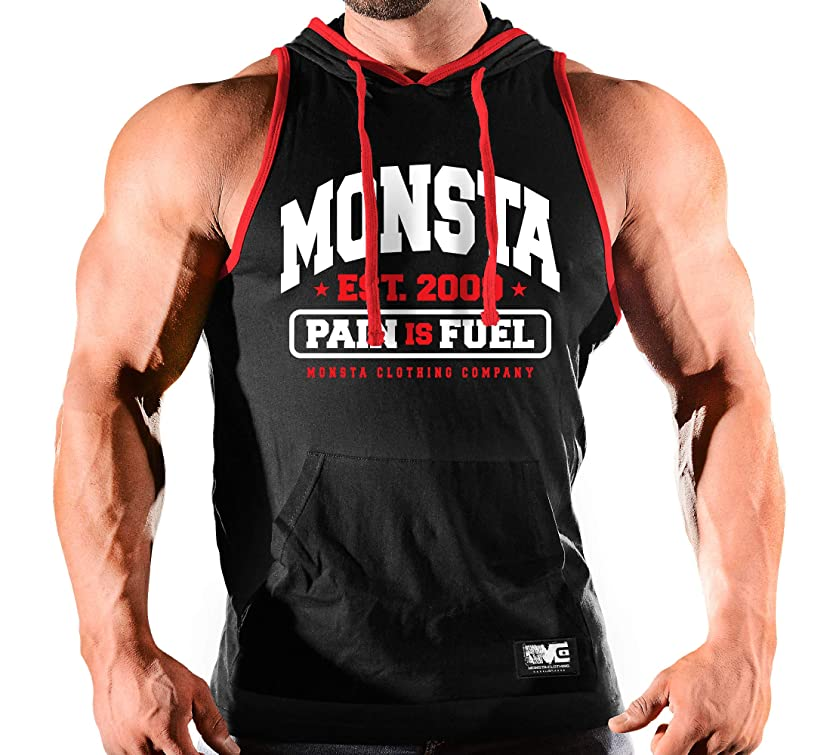 Monsta est09 Hooded Tank Top