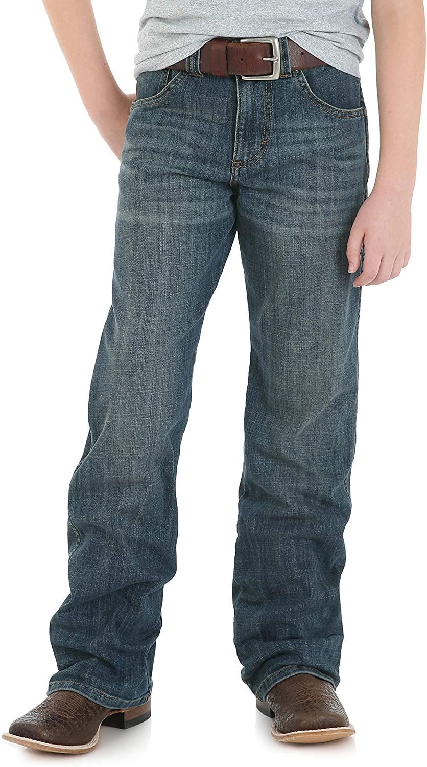 Wrangler Boys' Retro Special price Relaxed Boot Jeans Cut In stock Fit