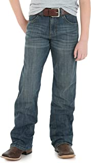 Wrangler Boys' Retro Relaxed Fit Boot Cut Jeans