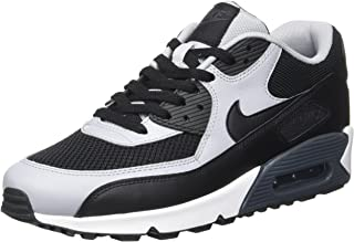 black nike air max essential