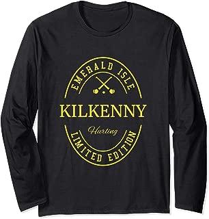 KILKENNY Fan Gaelic Hurling Long Sleeve T-Shirt