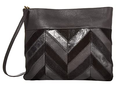 The Sak Tomboy Convertible Clutch by The Sak Collective (Black Patch) Clutch Handbags