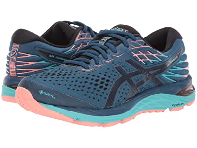 ASICS GEL-Cumulus(r) 21 G-TX (Mako Blue/Midnight) Women