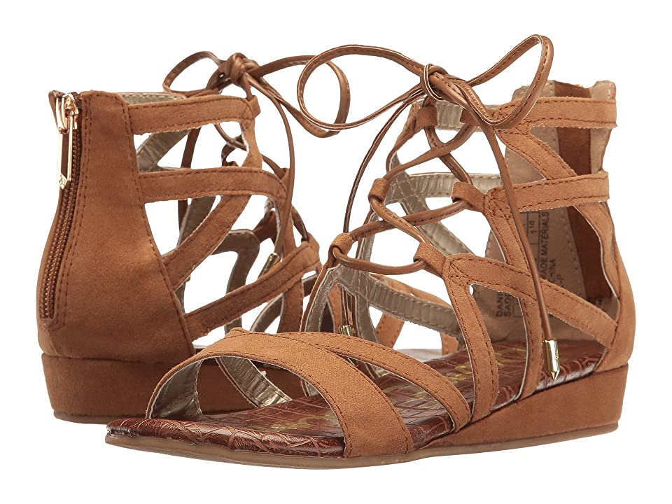 7f645f5282b2 Sam Edelman Kids Danica Lace-Up (Little Kid Big Kid) (Saddle Novo) Girl s  Shoes