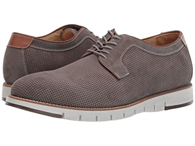 J&M EST. 1850 Martell Perf Plain Toe (Gray) Men