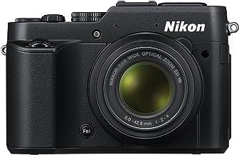 Nikon COOLPIX P7800 12.2 MP Digital Camera with 7.1x Optical Zoom NIKKOR ED Glass Lens and 3-inch Vari-Angle LCD