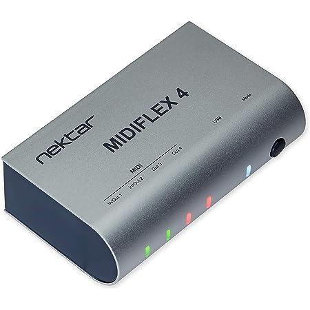 Nektar Interfaz MIDIFLEX 4 USB MIDI