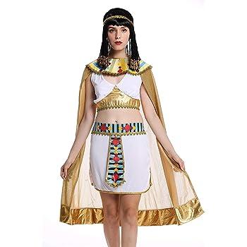 dressmeup - W-0199 Disfraz Mujer Feminino Halloween Cleopatra ...