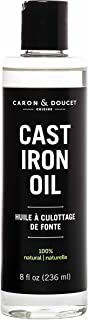 Caron & Doucet - Cast Iron Seasoning & Cleaning Oil | 100% Plant-Based & Food Grade! | Best for Seasoning, Restoring, Curi...