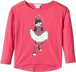 Little Marc Jacobs - Long Sleeve T-Shirt (Toddler/Little Kids)