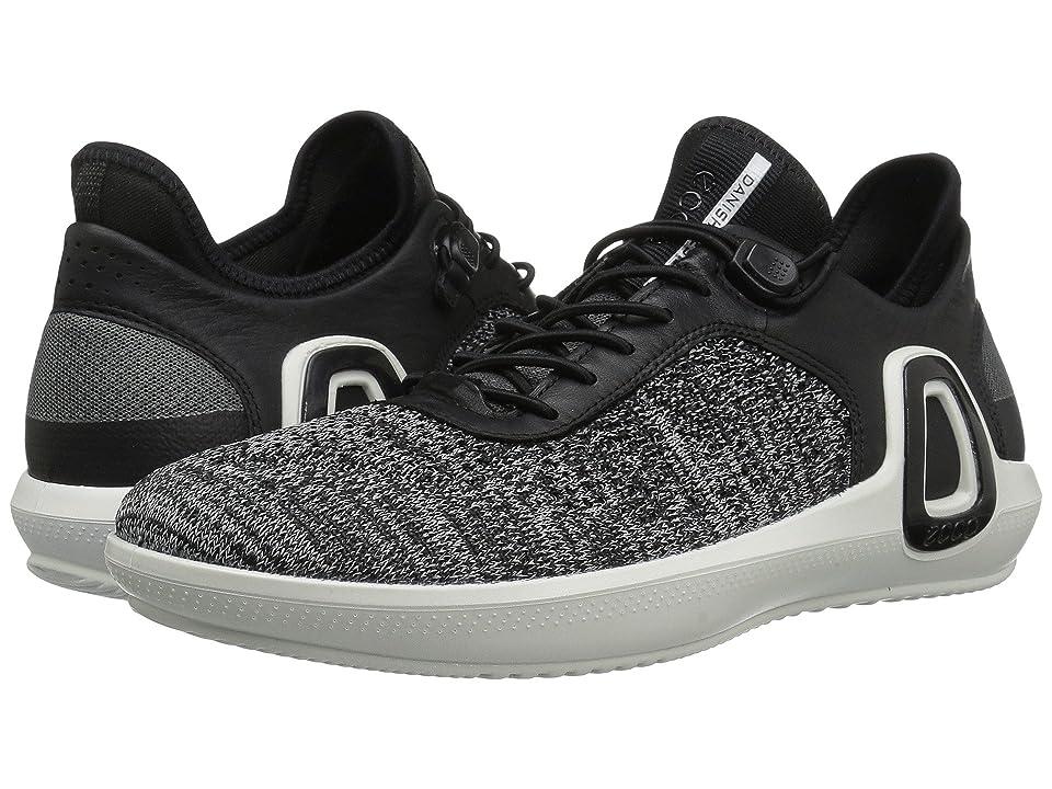 ECCO Sport Intrinsic 3 Textile (Black Concrete/Black) Men