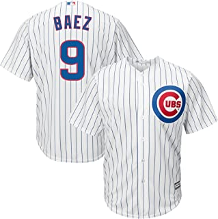 Majestic Athletic Men's Chicago Cubs Javier Baez Home Player Jersey