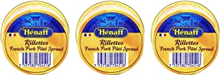 From France Henaff French Pork Pate Spread 127 gr Pack of 3