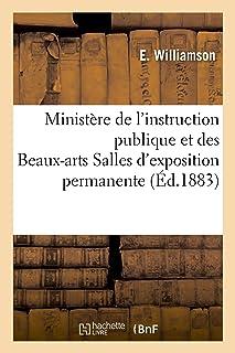 Ministère de l`Instruction Publique Et Des Beaux-Arts Salles d`Exposition Permanente (Sciences Sociales) (French Edition)