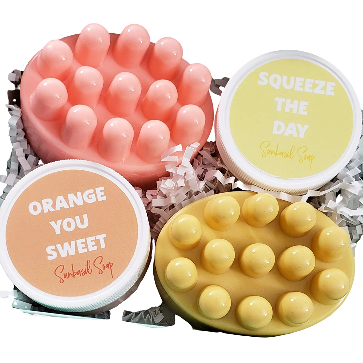 Lemon and Orange Ranking TOP17 Stress Relief Spa Al sold out. Massage Box with Bar Gift Set