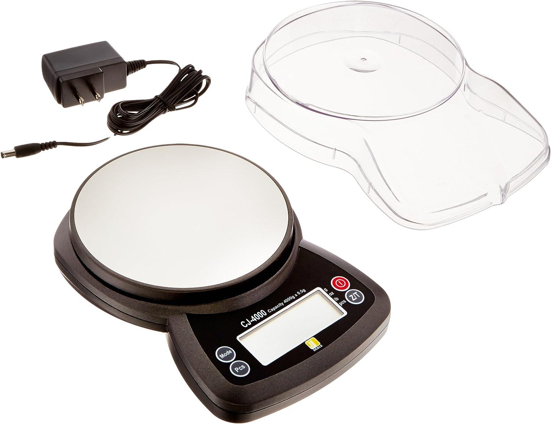 Jennings CJ-4000 Compact Digital Choice Bargain sale Weigh Scale JS PCS 4000g 0.5g x