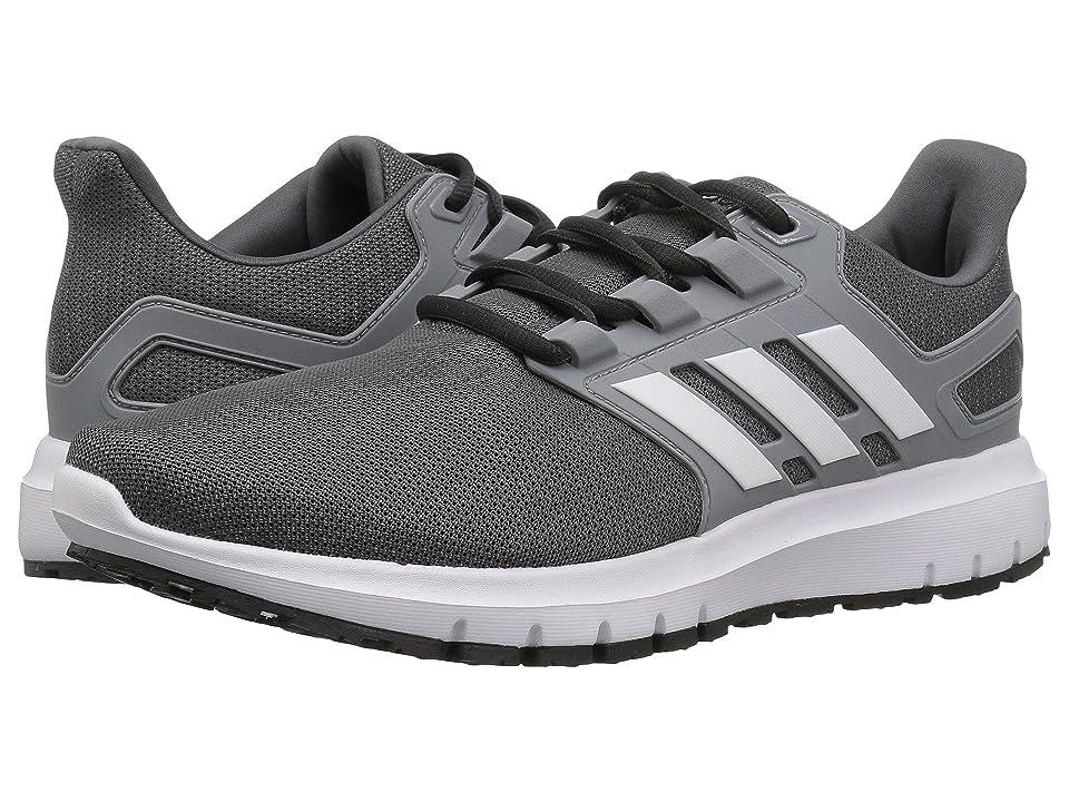 adidas Running Energy Cloud 2 (Grey Five/White/Grey) Men's Shoes