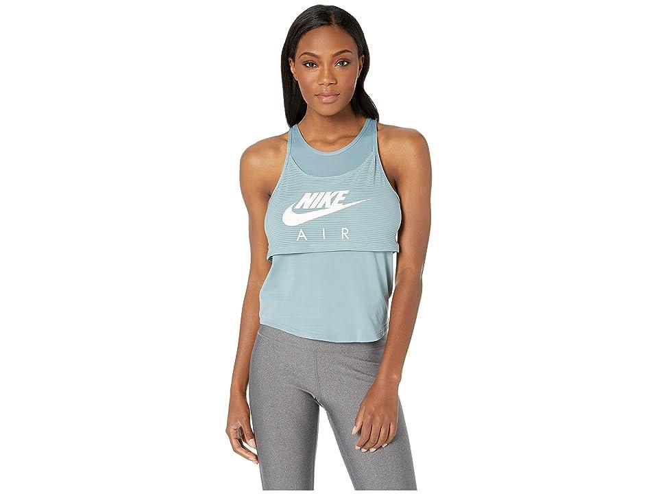 Nike Air Tank Graphic (Aviator Grey/White) Women