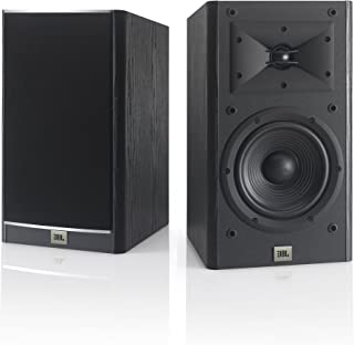 JBL Arena 130 Black 2-Way 7-Inch Bookshelf Loudspeakers (Black)