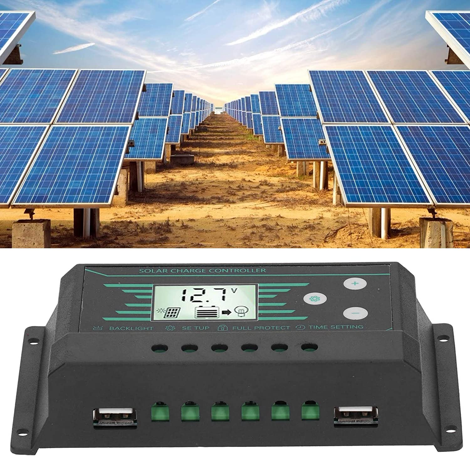 specialty shop PWM Same day shipping Solar Charge Controller Convenient Stable Regul