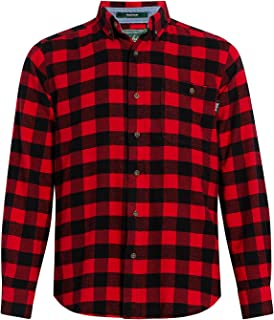 Men's Trout Run Flannel Shirt Modern Fit