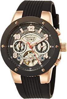 [ゾンネ]SONNE 腕時計 H017SERIES ブラック文字盤 H017PG-BK メンズ