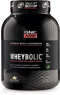 GNC AMP Wheybolic - Natural Vanilla