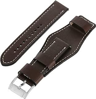leather cuff watchband
