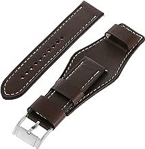leather cuff watch strap