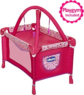 Baby Doll Playard Converts to Baby Doll Playmat, Baby Playpen with Mobile Included, Forup To 18