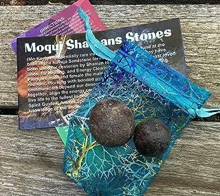 Moqui Shamans Stones Bonded Pair Small
