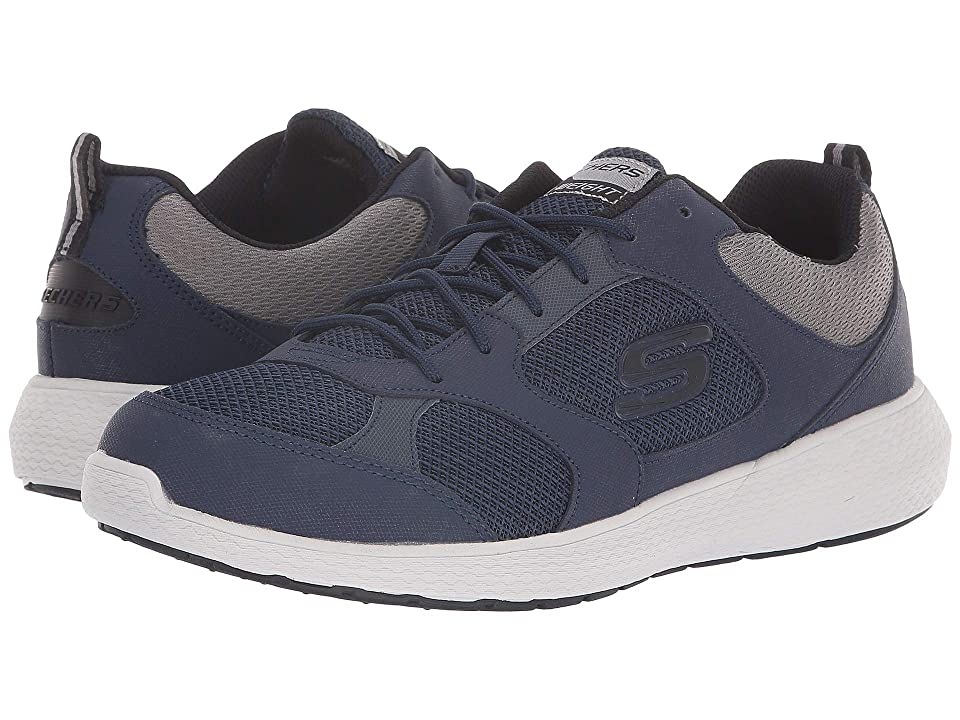 SKECHERS Kulow Highholt (Navy/Gray) Men