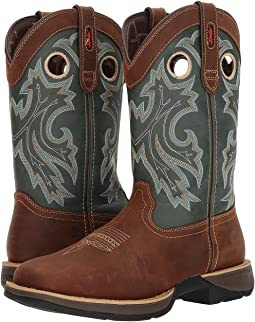 "Durango Rebel 12"" Western Square Toe"