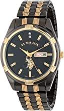 U.S. Polo Assn. Classic Men's USC80047 Two-Tone Watch Black-Dial Watch