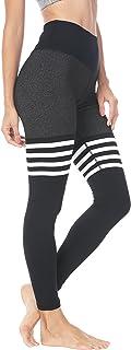 QUEENIEKE Women Yoga Leggings Knee-high Sock Workout Running Pants