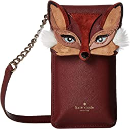 Fox Phone Crossbody