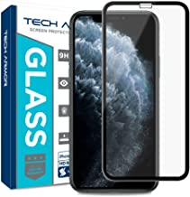 Tech Armor Edge to Edge Glass Screen Protector for New 2019 Apple iPhone 11 Pro/iPhone X/iPhone Xs - Case-Friendly Tempered Glass, 3D Touch Accurate (Black) [1-Pack]