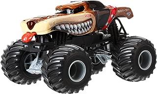 Hot Wheels Monster Jam Monster Mutt Brown Die-Cast Vehicle, 1:24 Scale