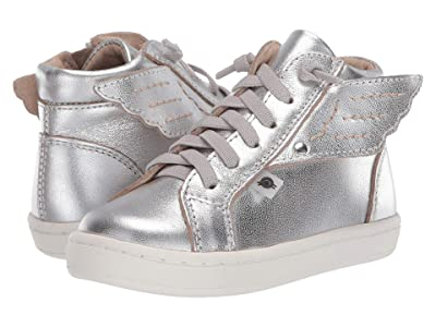 Old Soles Local Wings (Toddler/Little Kid) (Silver/Silver) Girl