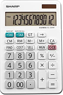 Sharp Electronics EL-334 TB Individual Power Calculadora de