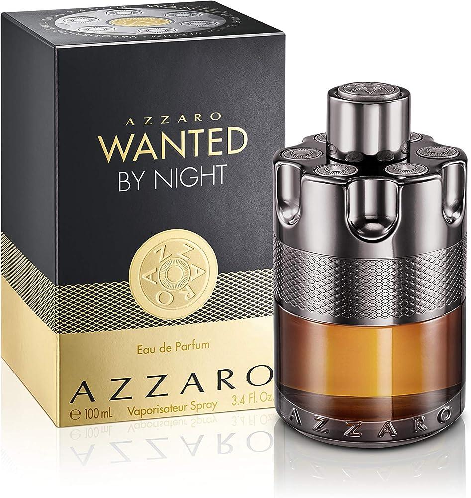 Azzaro wanted by night, eau de parfum,profumo per uomo,  100 ml 10007872