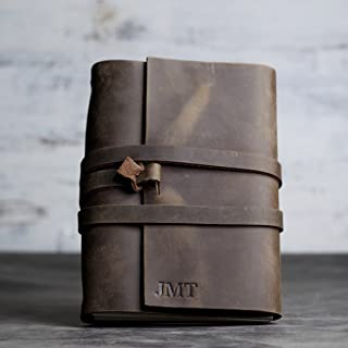 Refillable Personalized Premium Leather Journal