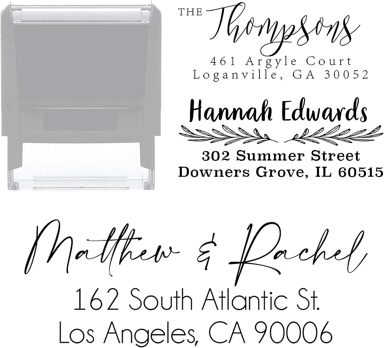 Address Stamp Choose Design Opening large release sale Many popular brands Custom Self Personalized Inking Ret