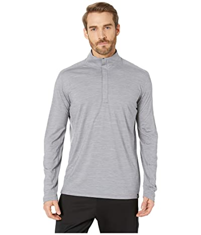 Smartwool Merino Sport 150 1/4 Zip (Light Gray Heather) Men